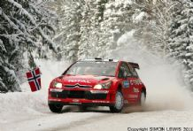 Citroen C4 WRC Sebastian Leob. Swedish Rally 2007 (a)